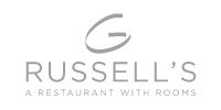 Russells of Broadway Restaurant logo