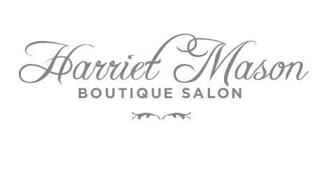 Harriet Mason Boutique Hair logo design