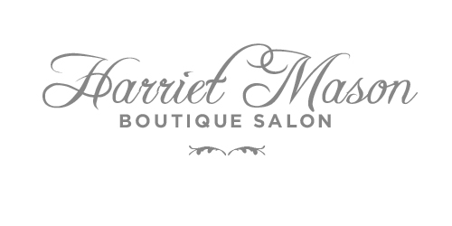 Harriet Mason Boutique Hair logo design