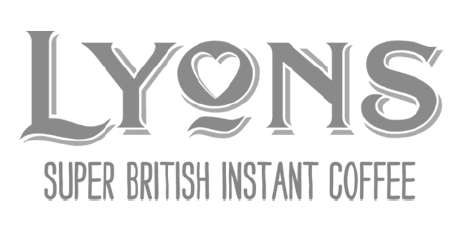Lyons Instant Coffee Logo and strapline