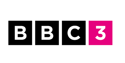 BBC Three New Logo Riley and Thomas