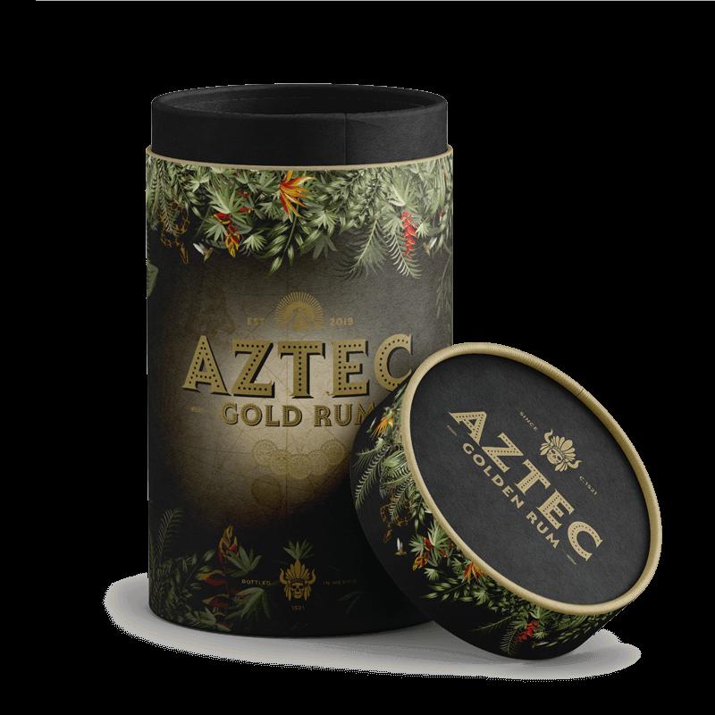 Aztec Rum Alcohol Branding
