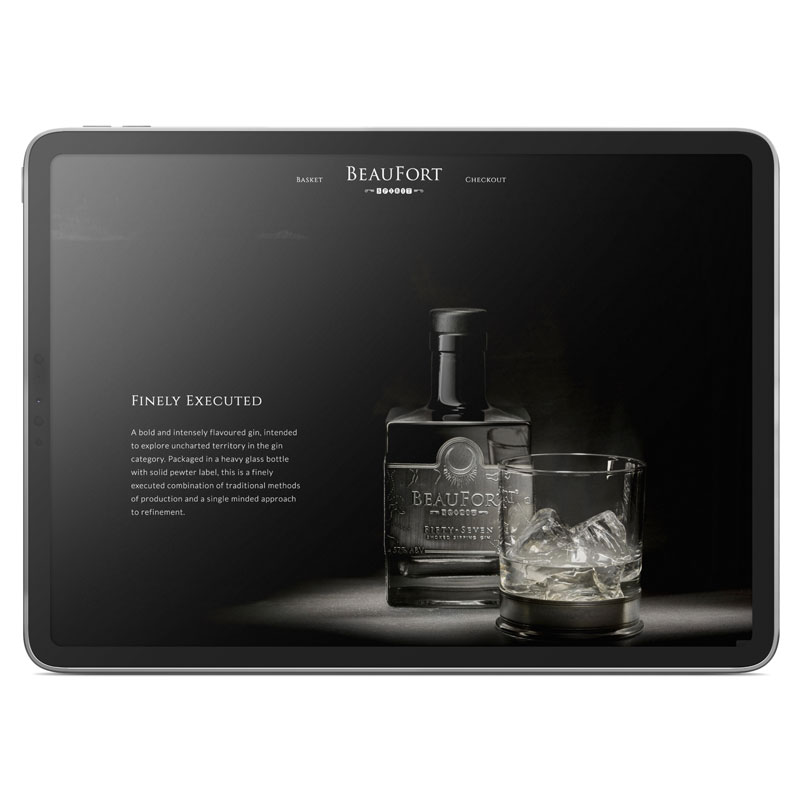Beaufort Spirits - converting wordpress to e-commerce
