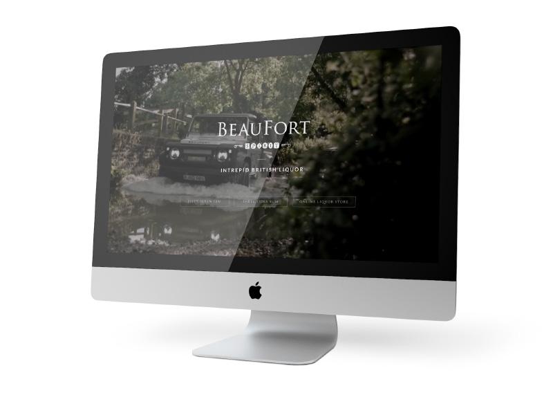 Beaufort Spirits e-commerce
