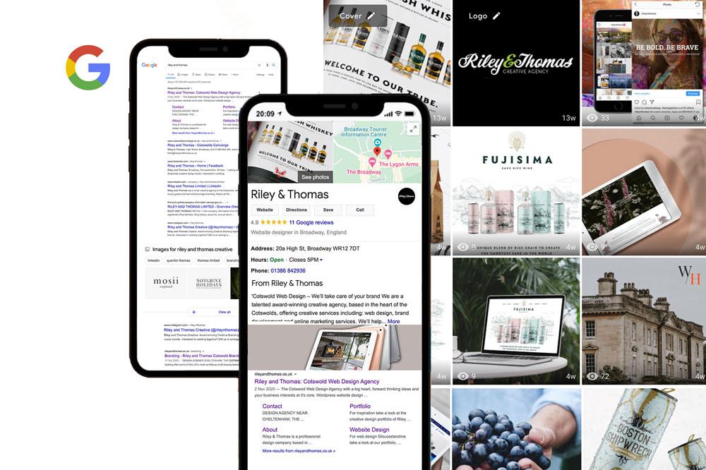 marketing agency cotswolds - Google MyBusiness