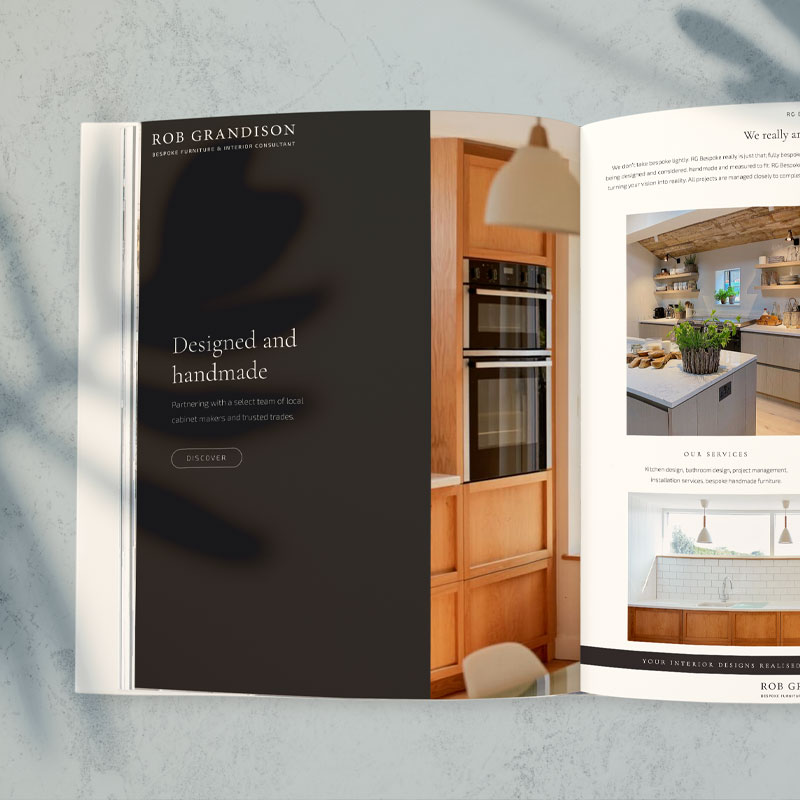 RG Bespoke Luxury Brand Design
